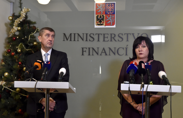 Andrej Babiš a Alena Schillerová (ČTK)