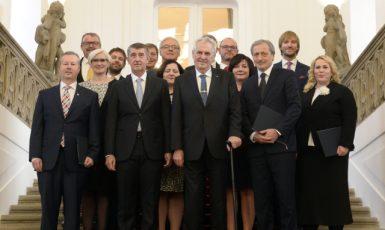 Menšinová vláda Andreje Babiše (ČTK)