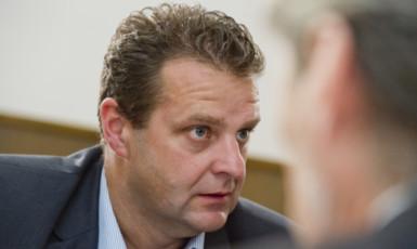 Komunistický poslanec Zdeněk Ondráček  (ČTK)