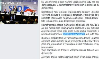 FB Tomia Okamury