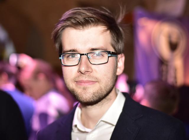 Předseda poslaneckého klubu Pirátů Jakub Michálek (ČTK)