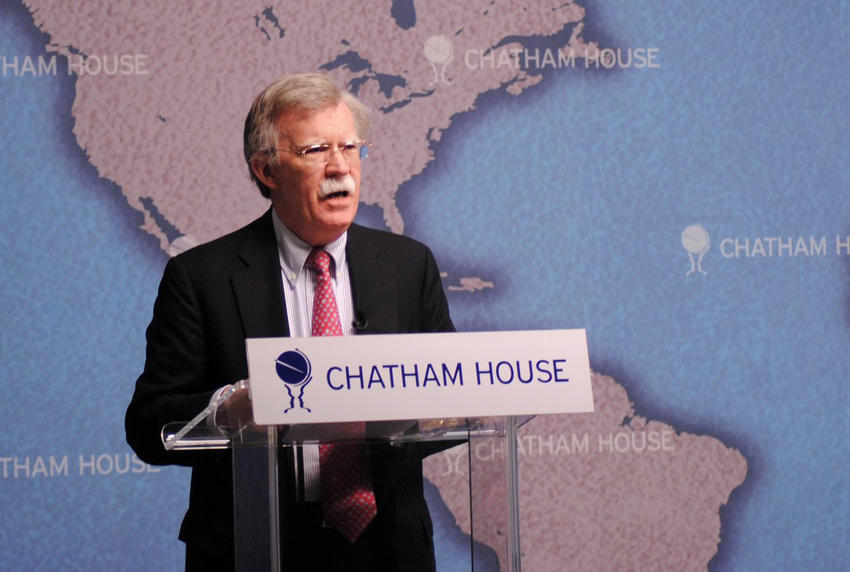 John Bolton (Chatham House / CC BY 2.0)