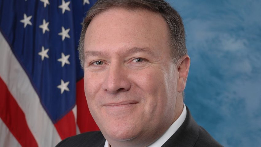Mike Pompeo Official Portrait