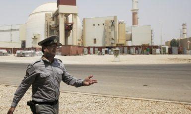 Jaderná elektrárna v íránském Búšehru (ČTK)