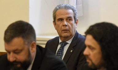 Bývalý ředitel GIBS Michal Murín na jednání bezpečnostního výboru  (ČTK)