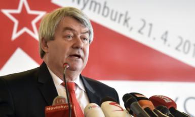 Šéf českých komunistů Vojtěch Filip  (ČTK)
