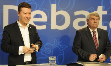Tomio Okamura a Vojtěch Filip jsou opět zajedno s Kremlem  (ČTK)