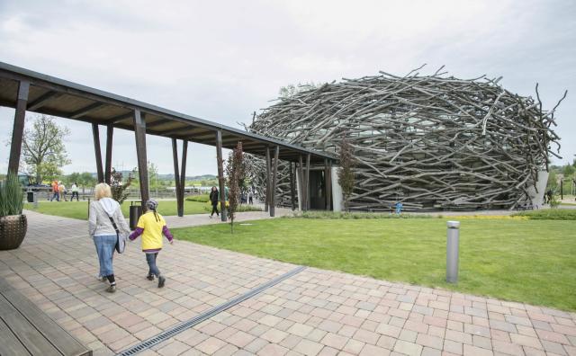 Aréna v areálu farmy Čapí hnízdo v Olbramovicích  (ČTK)