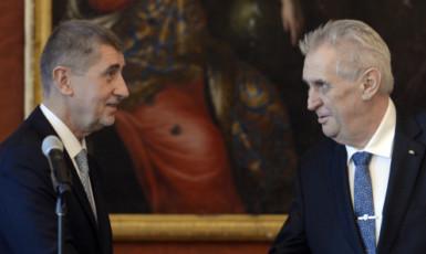 Prezident republiky Miloš Zeman a premiér Andrej Babiš - dva populisté těžkého kalibru (ČTK)
