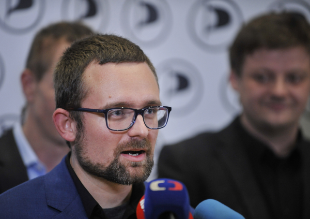 Europoslanec Mikuláš Peksa (Piráti)  (ČTK)