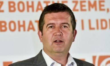 Předseda ČSSD Jan Hamáček  (ČTK)