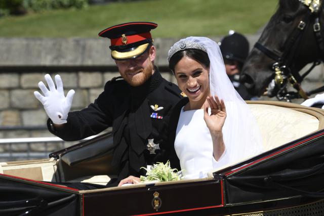 Svatba prince Harryho a Meghan Markleové (ČTK)