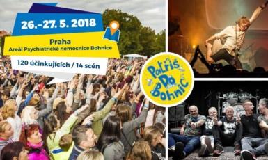 Festival Mezi Ploty se koná 26. a 27. května v praku Psychiatrické nemocnice Bohnice.  (Archiv Mezi Ploty)