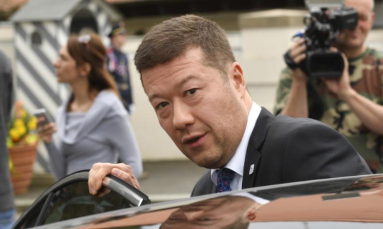 Předseda SPD Tomio Okamura  (ČTK)