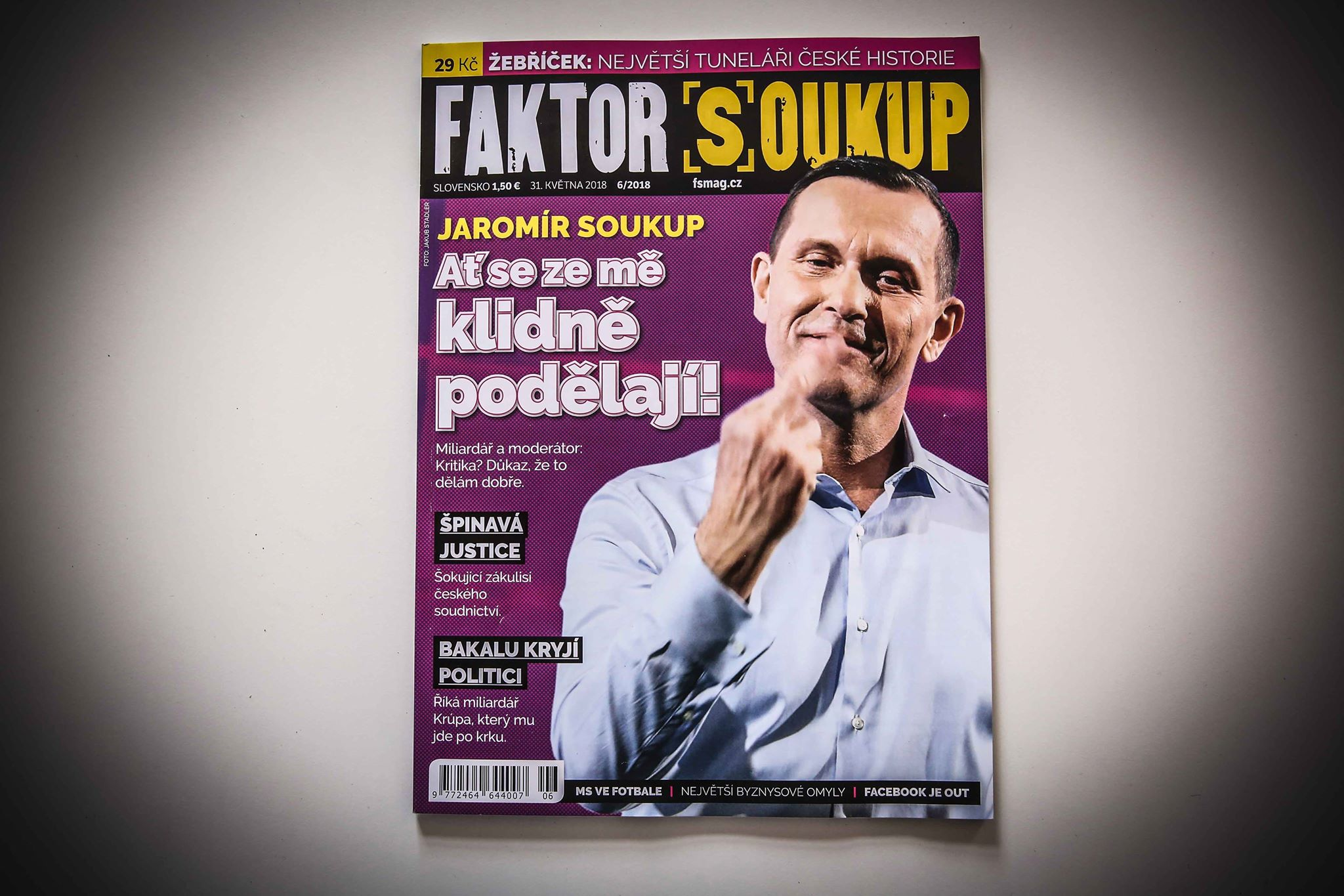 Nekompromisní, šikovný, bohatý, vzdělaný, objektivní. Něco z toho určitě je Jaromír Soukup. (FORUM 24)