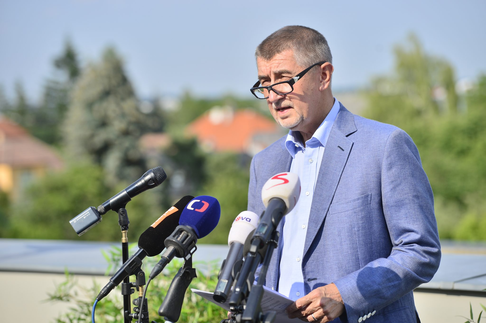 Andrej Babiš (Zbyněk Pecák)