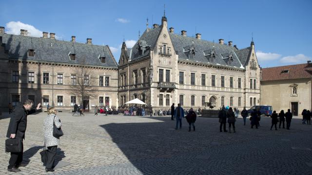 Jiřský klášter a Nové proboštství  v Praze vrácené církvi v restituci  (ČTK)