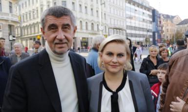Andrej Babiš a Taťána Malá (ČTK)