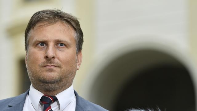 Ministr spravedlnosti Jan Kněžínek  (ČTK)