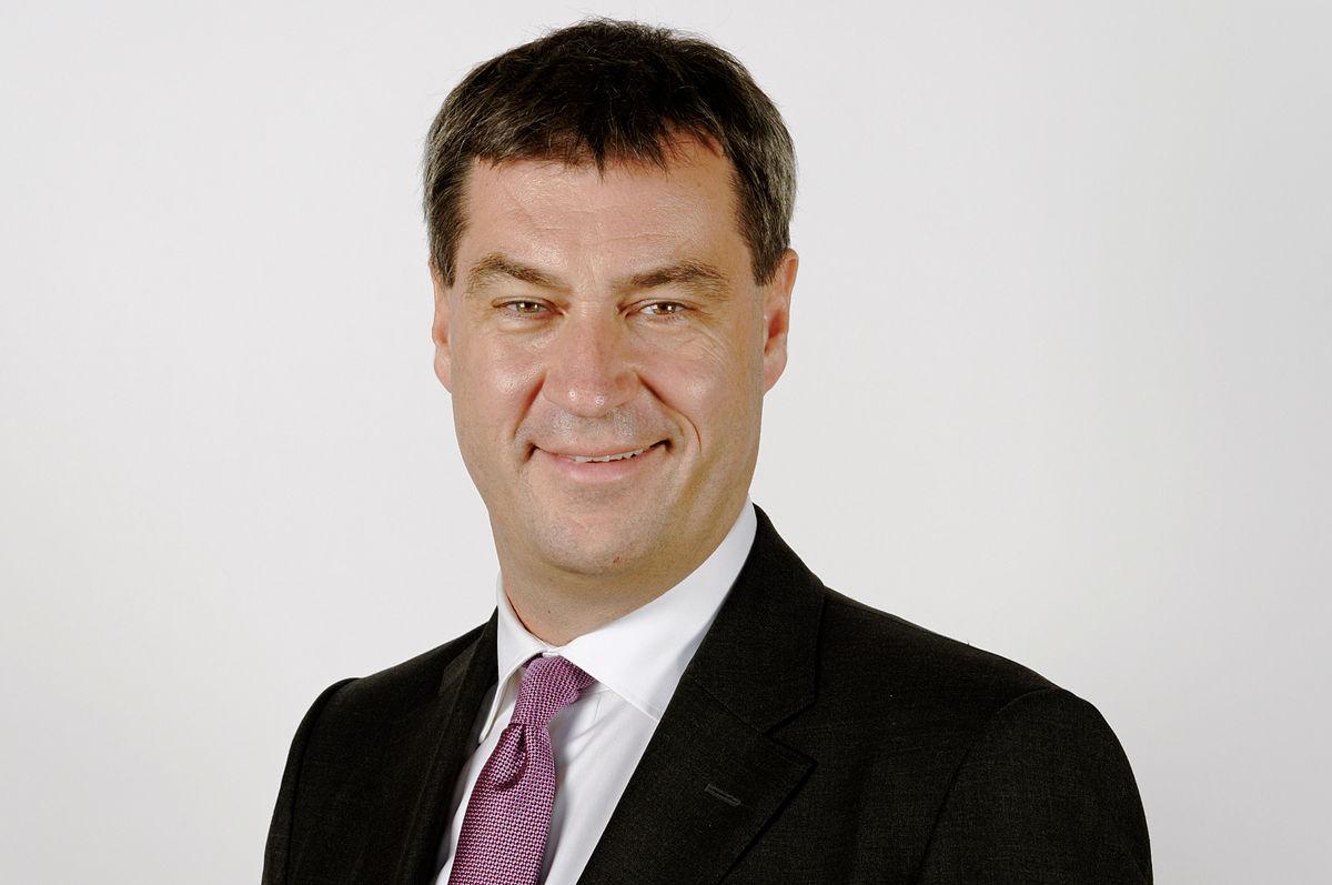 Bavorský premiér Marcus Söder (Wikipedie)