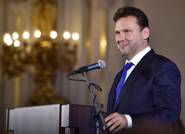 Předseda poslanecké sněmovny Radek Vondráček (ANO) (ČTK)