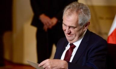 Miloš Zeman (twitter J. Ovčáčka)