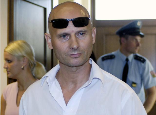 Bývalý Mrázkův bodyguard Pavel Šrytr u soudu  (ČTK)