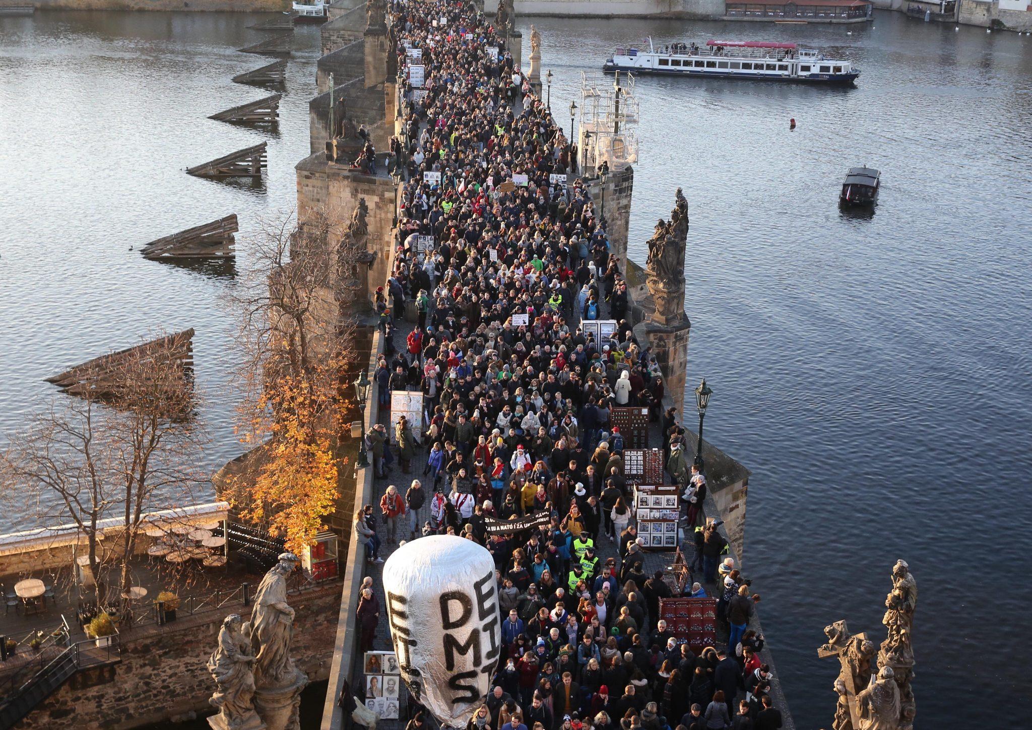 Demonstrace za Babišovo odstoupení (Pavel Hofman)