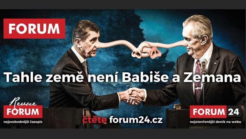 Demokracie prý není ohrožena. Proč se tedy firmy bojí vyvěsit billboard  deníku FORUM 24  c4624415a28d