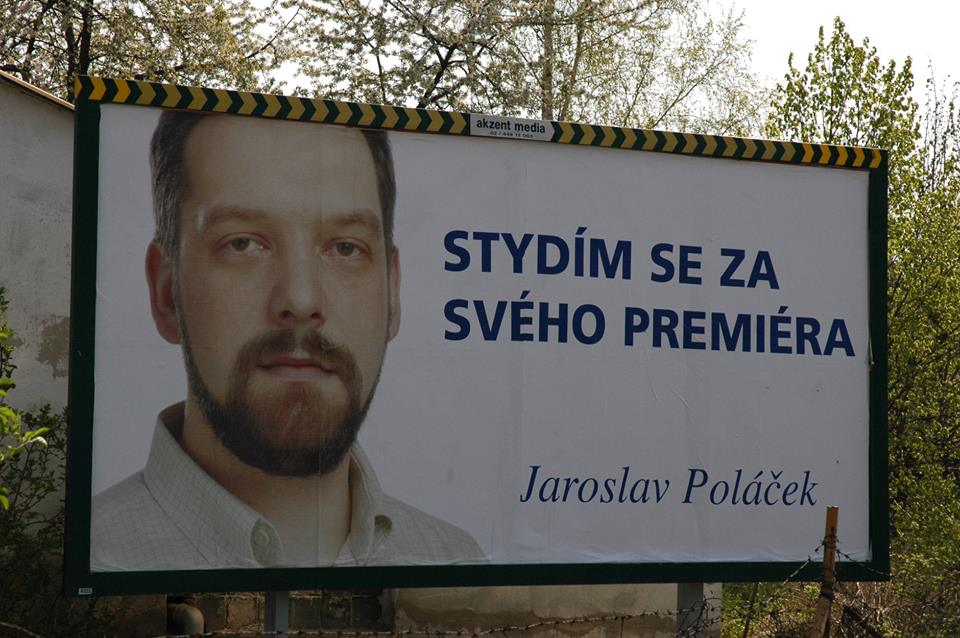 Billboard, na němž může být i vaše tvář (Facebook - PRodukujeme)