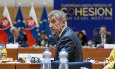 Český premiér Andrej Babiš  (ČTK)