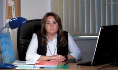 Účetní Jelena Alexejevna Husajnová, která podle amerických vyšetřovatelů vyplácela ruské trolly (riafan.ru)