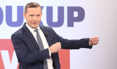 """Politik"" Jaromír Soukup (FB TV Barrandov)"