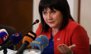 Ministryně financí Alena Schillerová  (ČTK)