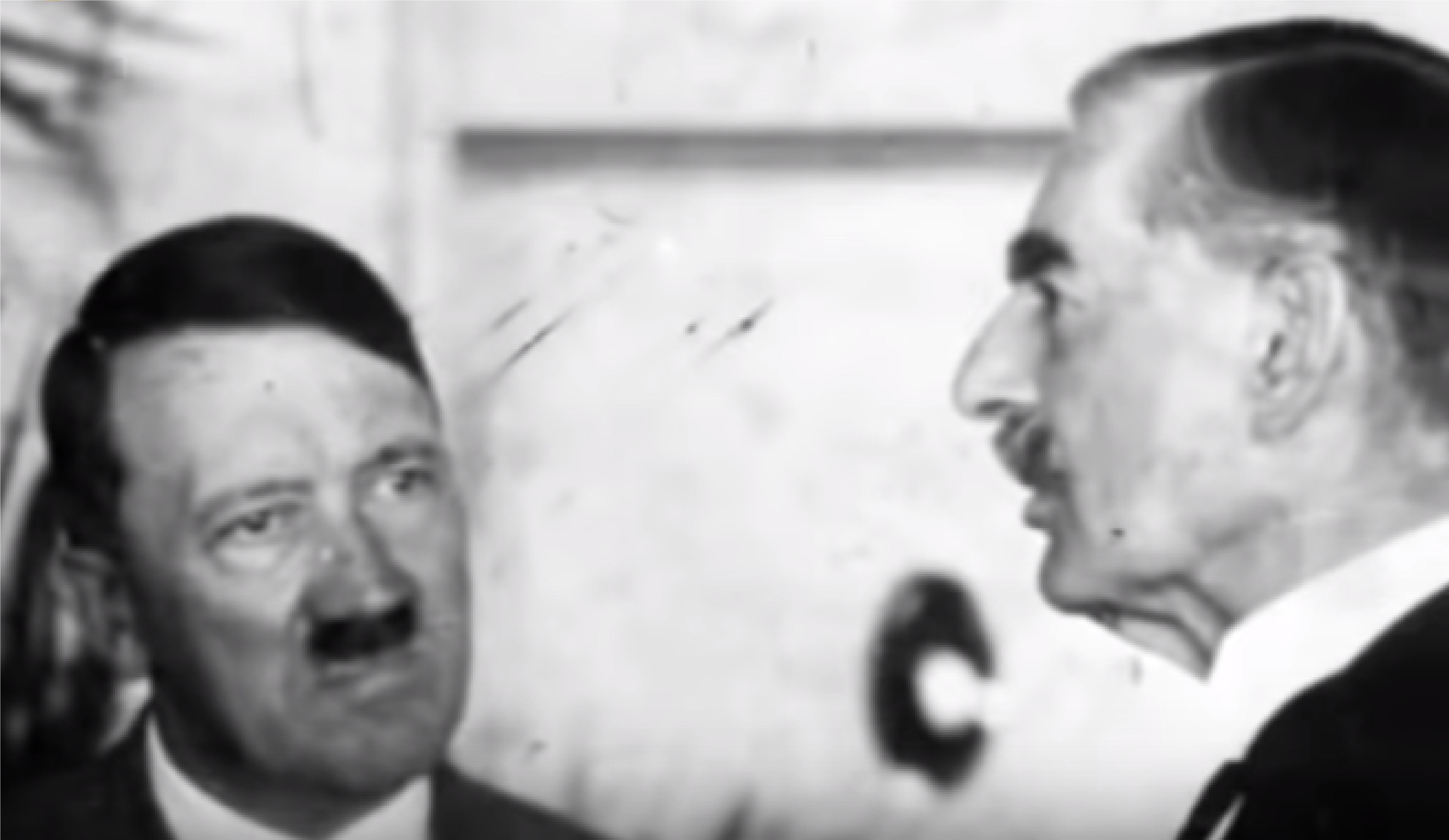 Hitler a Chamberlain. (youtube)