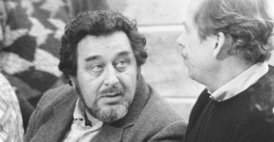 Emanuel Mandler v listopadových dnech 1989 (ČTK)