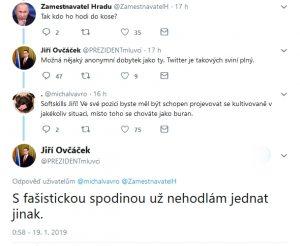 Twitter Jiří Ovčáček