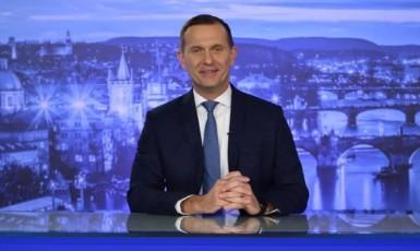 Politik, majitel TV Barrandov a moderátor Jaromír Soukup (FB TV Barrandov)