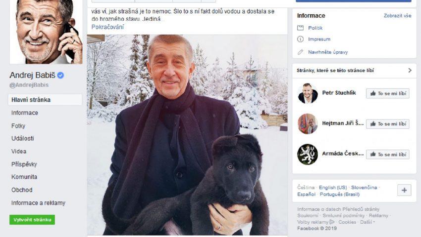 FB Andreje Babiše