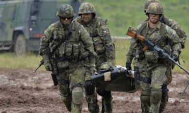 Vojáci, ilustrační snímek. (AČR)