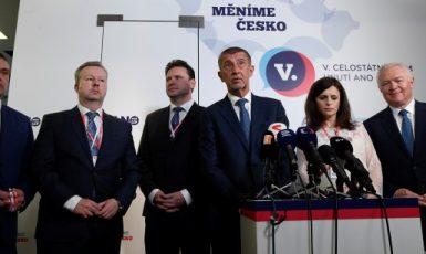 V únoru na sněmu zvolené vedení hnutí ANO (ČTK)