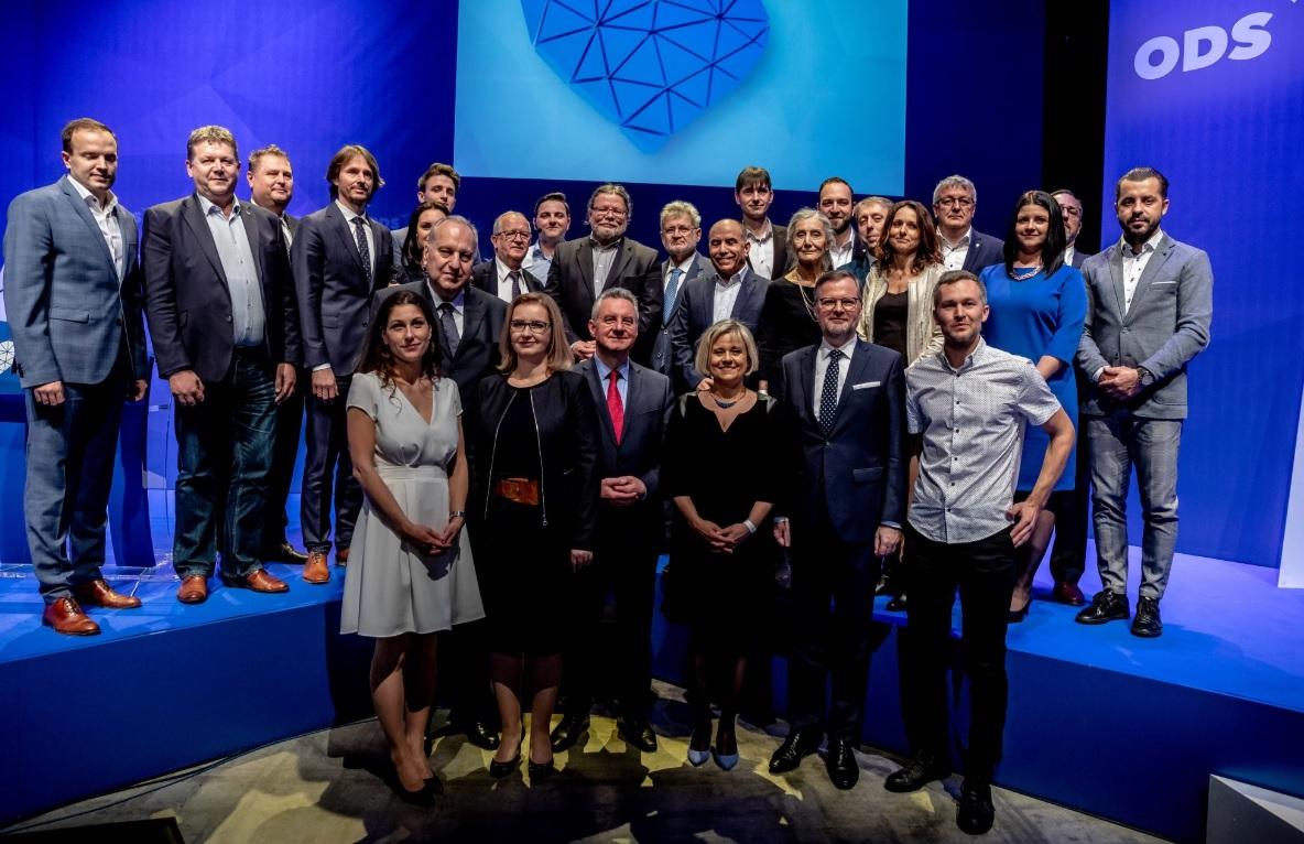 Vedení Občanské demokratické strany na programové konferenci 16.3.2019 (ODS.cz)