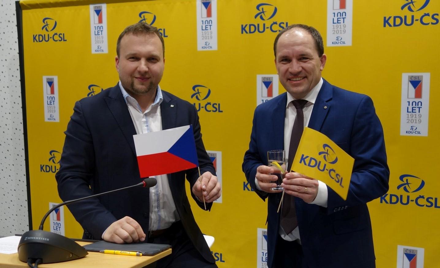 Marian Jurečka a Marek Výborný (FB Marek Výborný)