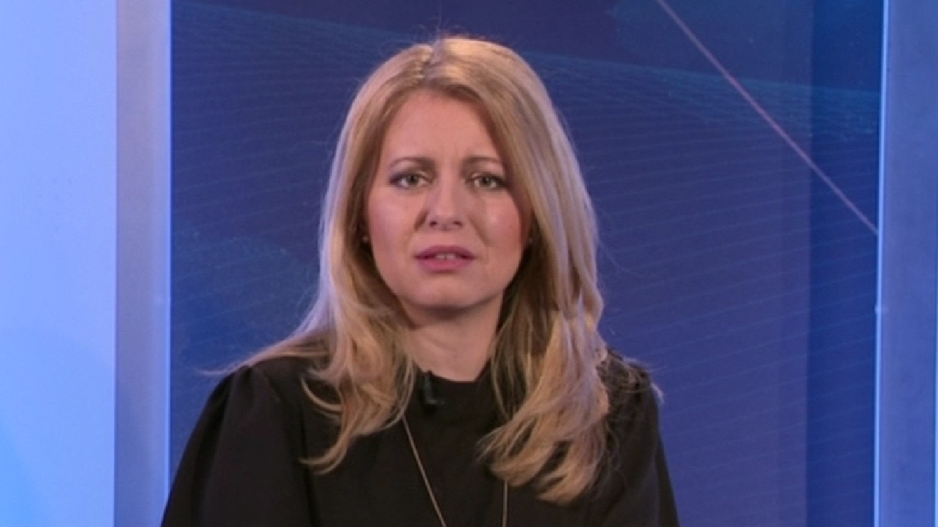 Zuzana Čaputová. (ČT)