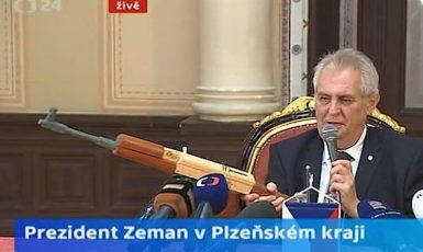 Miloš Zeman (printscreen ČT)