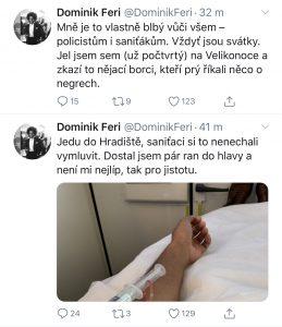 Twitter Dominika Feriho
