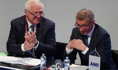 Jaroslav Faltýnek a premiér Andrej Babiš  (ČTK)