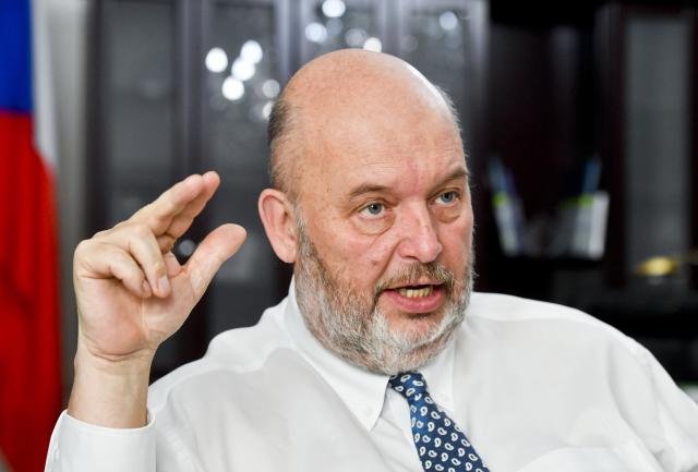 Ministr zemědělství Miroslav Toman mladší (ČTK)