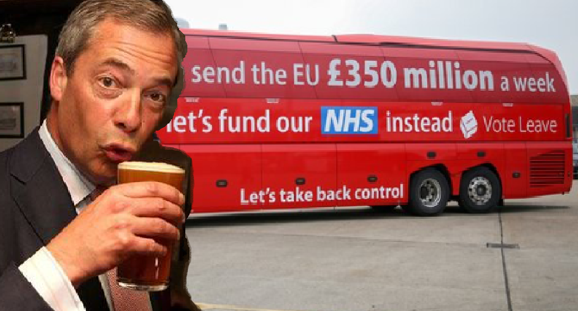 Nigel Farage. (Twitter/F24)