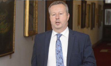 Ministr životního prostředí Richard Brabec (ANO)  (ČT)